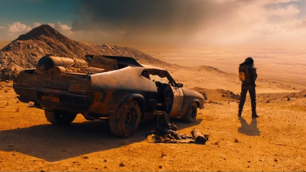 Mad Max landscape
